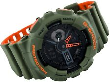 Casio G-Shock GA-110LN-3A Green Orange