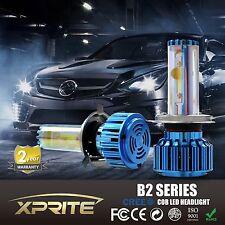 Xprite B2 Blue Series H4 CREE COB LED Headlight Conversion Kit 120W 6k 8k White