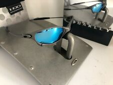 VINTAGE BEATIFUL OAKLEY JULIET X METAL / BLUE ICE THUG LENS