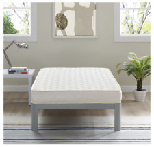 6-Inch Memory Foam Twin-Size Mattress With Quilted Fabric Cover Home Decor