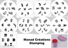 Set 9 plate Stamping Manicure Diy + Stamp For Polish Konad Nail Art Flower