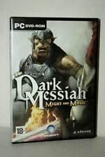DARK MESSIAH MIGHT AND MAGIC GIOCO USATO BUONO PC DVD VER ITALIANA GD1 47345