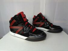 Men's Adidas Originals C-10 Basketball Sneakers Size 9 Black and Red