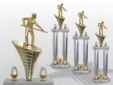 3er Säulenpokal SERIE BILLARD mit Gravur Säulenpokale BILLARD große Pokale