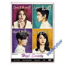 """BUY 5 GET 1 FREE""  High Society Korean Drama (4DVDs) GOOD_ENG SUBS"