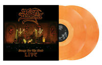 KING DIAMOND - SONGS FOR THE DEAD LIVE - CLEAR/LIGHT SALMON LIMITED - 2 LP