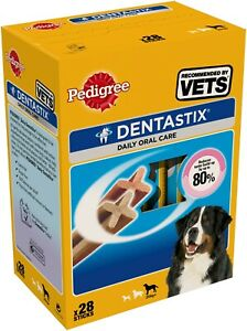Pedigree C&t Dentastix Large Dog +25kg 28stk