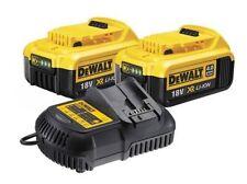 Baterías y cargadores DEWALT para herramientas eléctricas de bricolaje