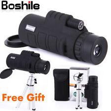 BOSHILE 10X42 Focus Zoom Lens Portable Travel HD OPTICS BK4 Monoculars Telescope