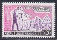 "France 1960 MNH Mi 1307 Sc 964 1st secondary school in Strasbourg.""Education"" **"