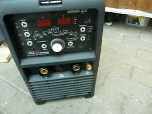 TIG WELDER AC DC 240V THERMAL ARC WITH TORCH EARTH CLAMP