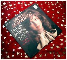 VICKY LEANDROS - Ich hab die Liebe gesehn * 1972 * TOP (M-:)) PREIS HIT SINGLE
