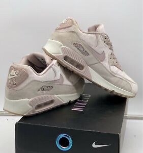 "Nike Air Max 90 Low "" Velvet Particle Rose "" Size UK 6 Jordan / Dunk"
