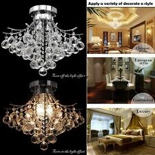 Elegant Crystal Chandelier Pendant Lamp Ceiling Light Fixture/3 Lighting!