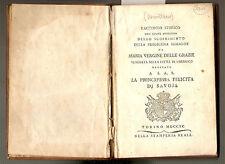 1790. TORINO/CHERASCO-MARIA DELLE GRAZIE