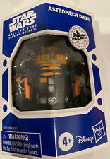 "Star Wars Galaxy's Edge Astromech Droid Orange & Black R2 Droid 3"" Figure Target"