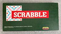 Original Scrabble Board Game Spears Games Vintage 1955