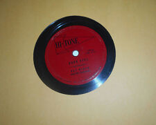 RAY BLOCK & HIs Orch - Hi-Tone -  Dark Eyes / Turkey in the Straw (78 RPM)