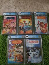 HARBINGER #0,1,2,3,4 CGC 9.8 9.6 WHITE PAGES PINK VARIANT MAIL ORDER COUPON INCL
