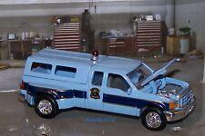 FORD F-350 DELEWARE STATE POLICE TRUCK 1/64 SCALE COLLECTIBLE MODEL - DIORAMA