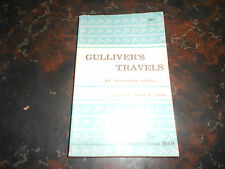 Gulliver's Travels, by Jonathon Swift, vintage Riverside Edition, 1960, Gd cond.