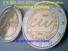 2 euro 2010 BELGIO Belgique Belgica Presidenza Europea Belgium Belgien Бельгия