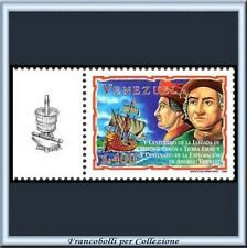 1998 VENEZUELA Colombo Vespucci congiunta ITALIA **