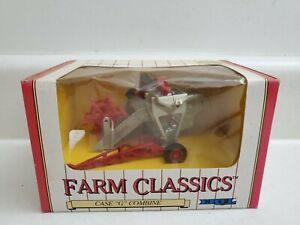 1991 ERTL  Farm Classics Case 1/43 scale diecast Case G Combine  NIB
