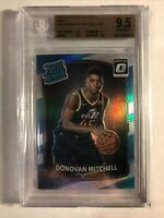 2017-18 Optic Holo Prizm Donovan Mitchell Rate Rookie BGS 9.5 - 1of1 GEM on eBay