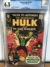 Tales To Astonish #99 Jan 1968 CGC Grade 6.5 Fine+ When The Monster Wakes