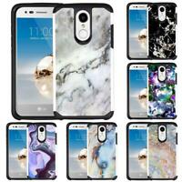 For LG Aristo 3/Aristo 2 Plus/Phoenix 4/Tribute Empire Marble Phone Case Cover