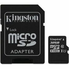 Kingston 32GB Canvas Select micro SDHC Tf Memory Card SD Adapter 80MB/s New UK