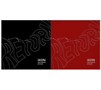 iKON Return 2nd Album Random Ver CD+PhotoBook+Post+PhotoCard+Sticker+etc KPOP
