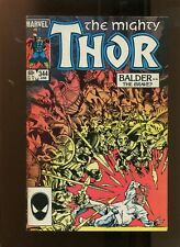 THOR #344 (7.0) BALDER THE BRAVE! 1984