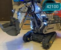 LED Lighting Kit for Lego 42100 Technic Liebherr R 9800 Excavator