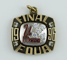 1996 UMASS UNIVERISTY MASSACHUSETS FINAL 4 CHAMPIONSHIP RING top PENDANT 10K