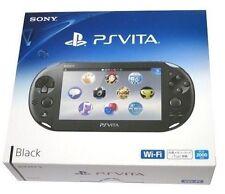 SONY PS Vita Wi-Fi Console BLACK PCH-2000 ZA11 Japan Model New
