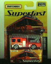Matchbox 2005 Superfast #11 Dennis Sabre Ladder Truck