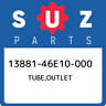 13881-46E10-000 Suzuki Tube,outlet 1388146E10000, New Genuine OEM Part