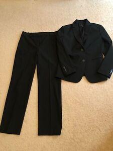 Ann Taylor Black Pant Suit Size 6P