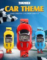 Children Sports Watch Cars Wristwatch Kids Boys Girls Electronic Digital Watch