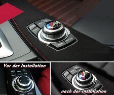 BMW Idrive M tec 3D Aufkleber 5er F10 F11 1er F20 F21 3er F30 4er F32 F34 F36