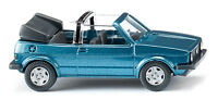 Wiking 004604 VW Golf I Cabrio - oceanic blue metallic 1:87 (H0)
