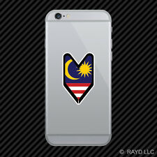 Malaysian Driver Badge Cell Phone Sticker Mobile Malaysia MYS MY