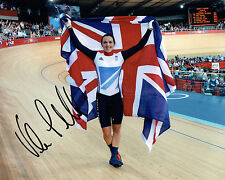 Victoria PENDLETON Autograph Signed Photo AFTAL COA Cyclist Olympic Medal Winner