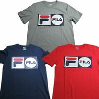Fila Mens Lock Up Tee Short Sleeve T-Shirt