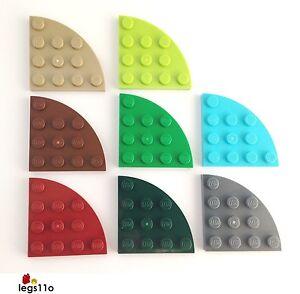LEGO Plate 4x4 Round Corner Quarter Circle NEW 30565 choose colour and quantity