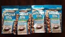 Hawaii Mauna Loa Dry Roasted Macadamia Nut with Sea Salt-4 Bags (10 oz per bag)