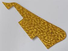 Gold Sparkle Plastic LP Guitar Pickguard Scratch Plate Fits Epiphone Les Paul