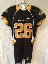 Game Worn Used Missouri Tigers Mizzou Football Jersey #26 Size 38 MOORE
